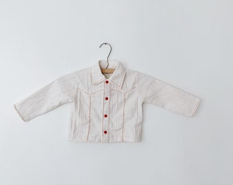 vintage 70s baby shirt