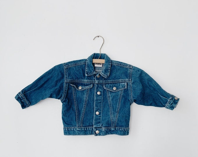 vintage baby denim jacket