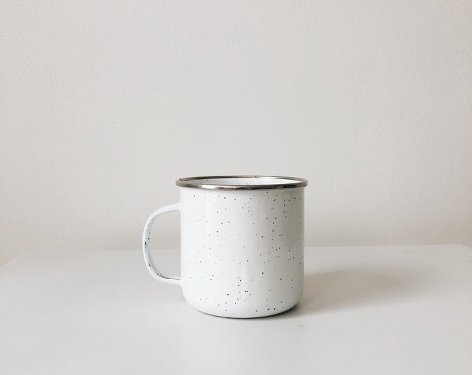 Vintage enamel mug | vintage mug | enamelware | ABLE SHOPPE
