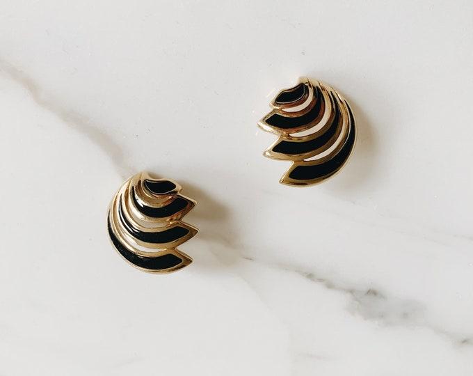 vintage statement earrings | pierced earrings | statement earrings | Able Shoppe