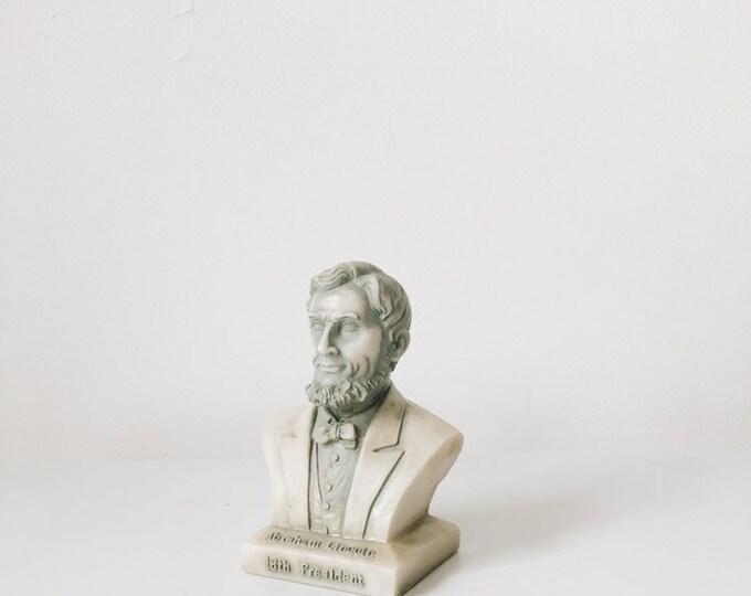 Vintage Abraham Lincoln bust