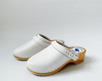 vintage swedish clogs