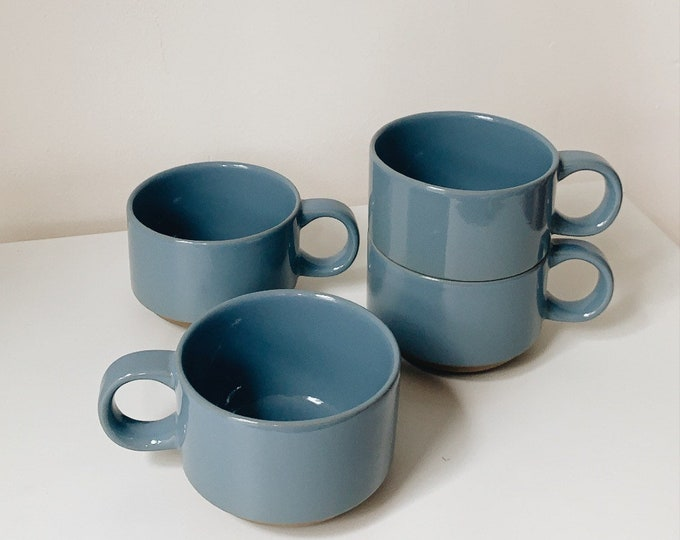 Vintage Japanese mug set