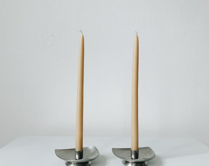 Mid Century modern Danish candle holders