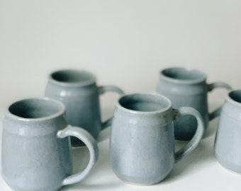 Vintage ceramic mugs   vintage mug set   vintage pottery   vintage ceramics   ABLE SHOPPE