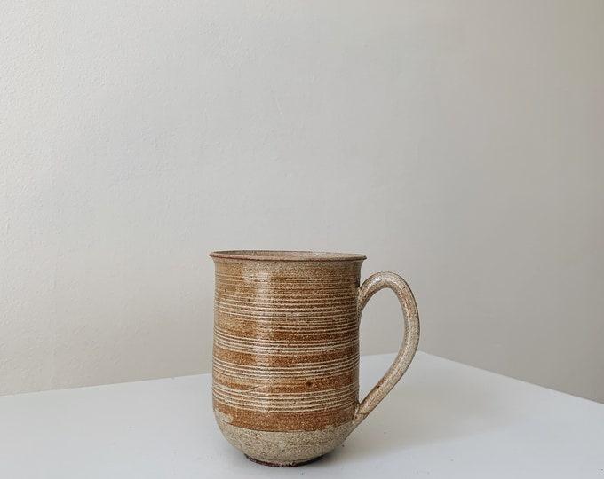Vintage ceramic mug