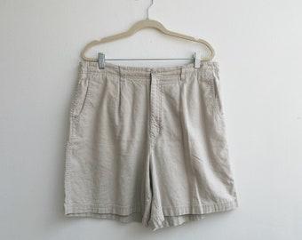 Vintage linen shorts