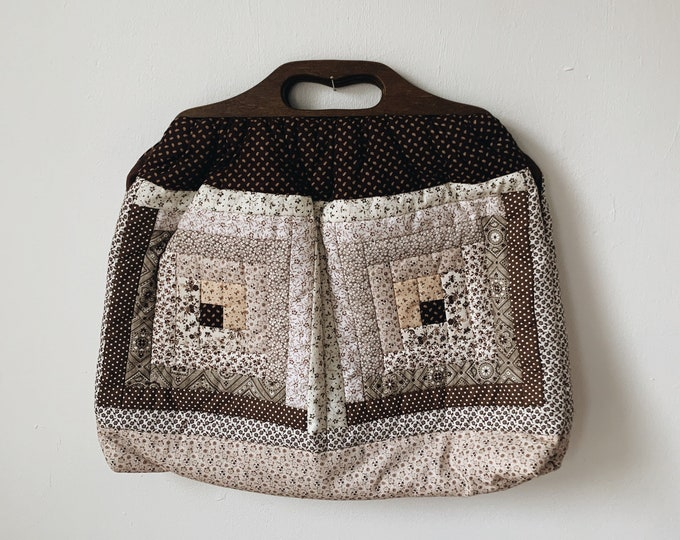 Vintage quilted purse