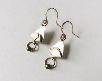 vintage statement earrings   pierced earrings   statement earrings   dangle earrings  Able Shoppe