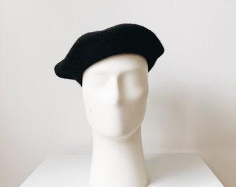 vintage wool beret