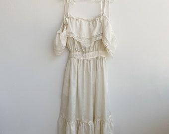 Vintage off the shoulder dress