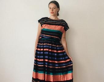 Vintage Ellen Tracy striped set