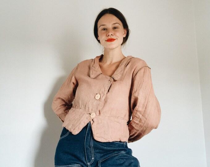 Vintage Liz Claiborne Linen blouse