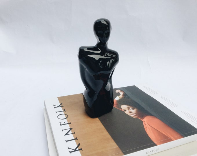 ceramic figure   human figure statue   human figure decor   ABLE SHOPPE