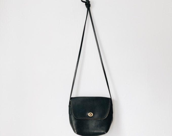 Vintage leather COACH purse