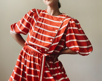 Vintage striped Liz Claiborne dress