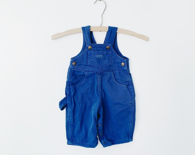 vintage baby Guess overalls