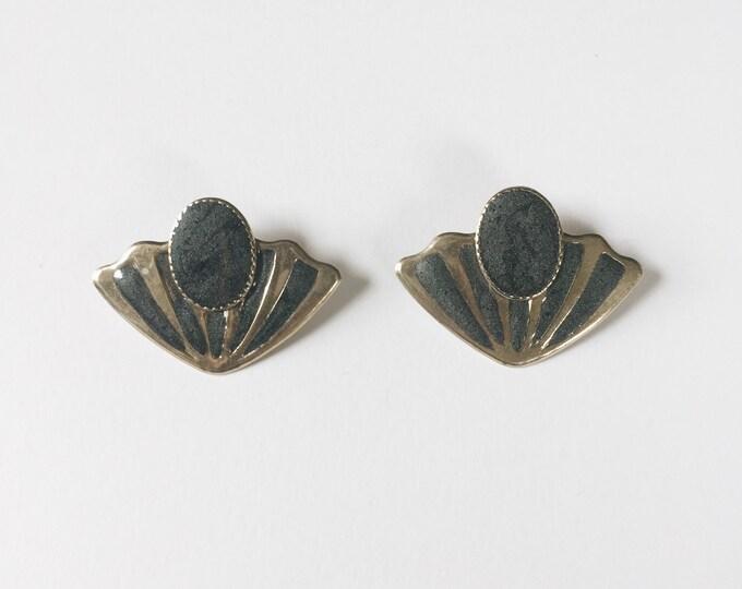 vintage statement earrings | shell earrings | statement earrings | large earrings | Able Shoppe