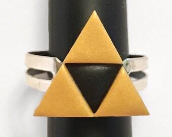 Triforce Adjustable Ring (The Legend of Zelda)