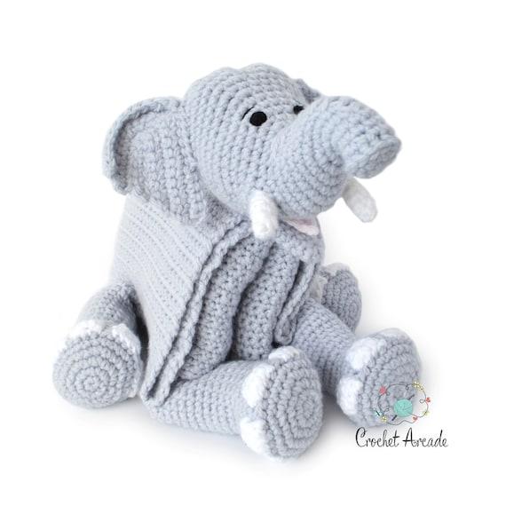 Tutorial: Come ricamare un Elefante Amigurumi (sub. English y ... | 570x570