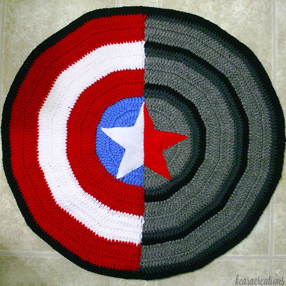 Captain America Winter Soldier Blanket Etsy
