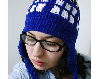 TARDIS Hat (Adult size)
