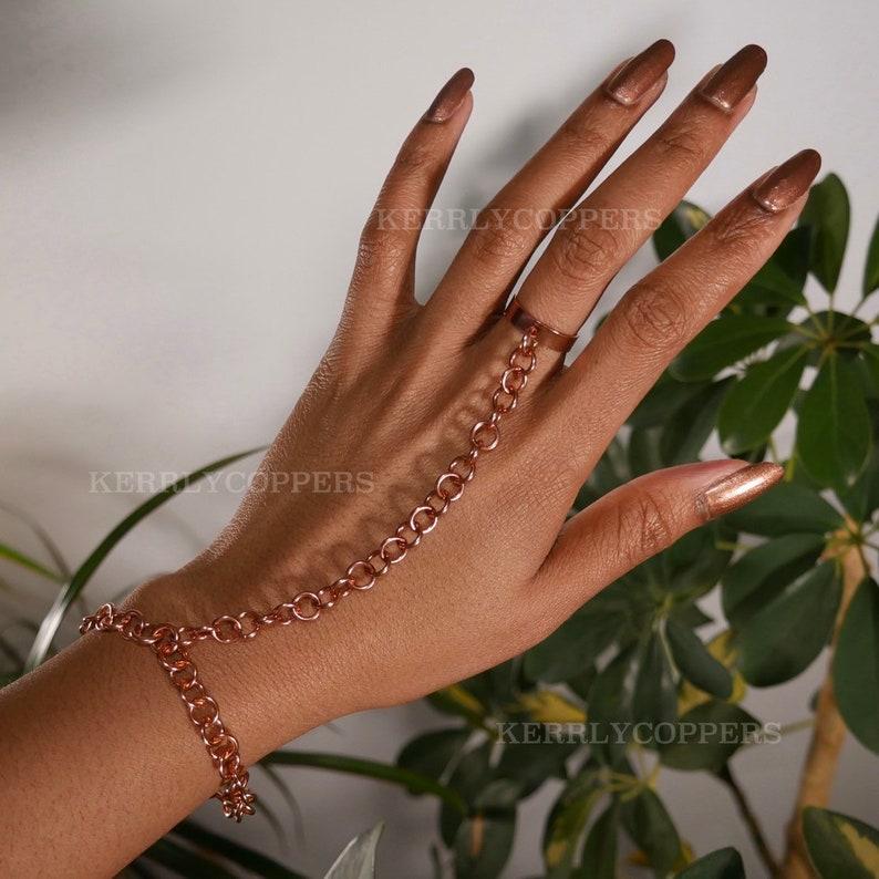 Copper Hand Chain