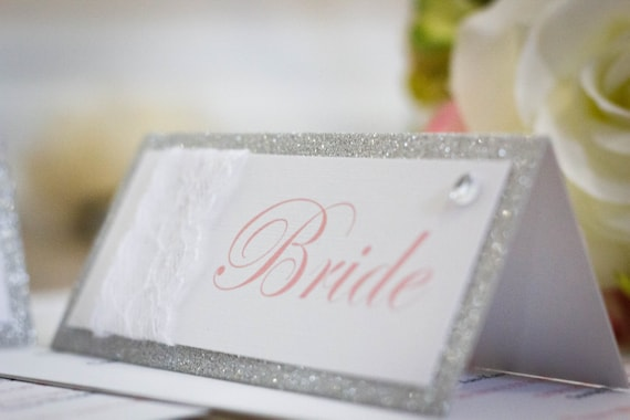 Vintage Glam Place Name Cards