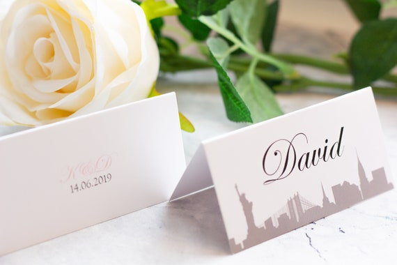 New York Place Name cards