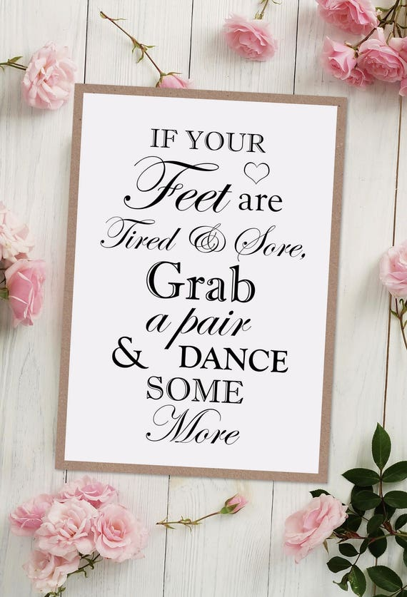 Dancing Wedding Sign
