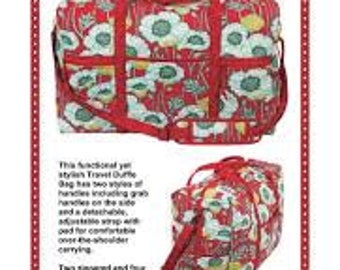 Travel Duffle Bag by Annie  - Paper Printed Pattern