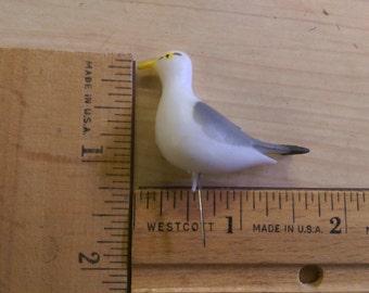 LoT 36 Sea Gulls_Birds_ Miniature Vintage, All New Stock Terrarium_Cake toppers _