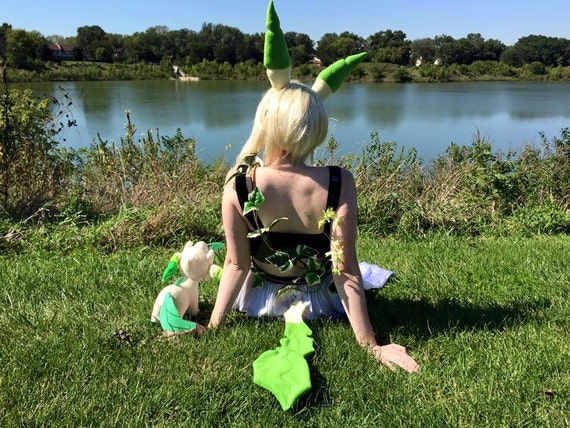 Leafeon Tail by Etsy