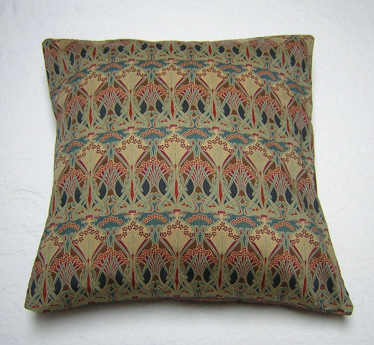 7247873ce0b Liberty of London Fabric Cushion Cover Ianthe Bronze