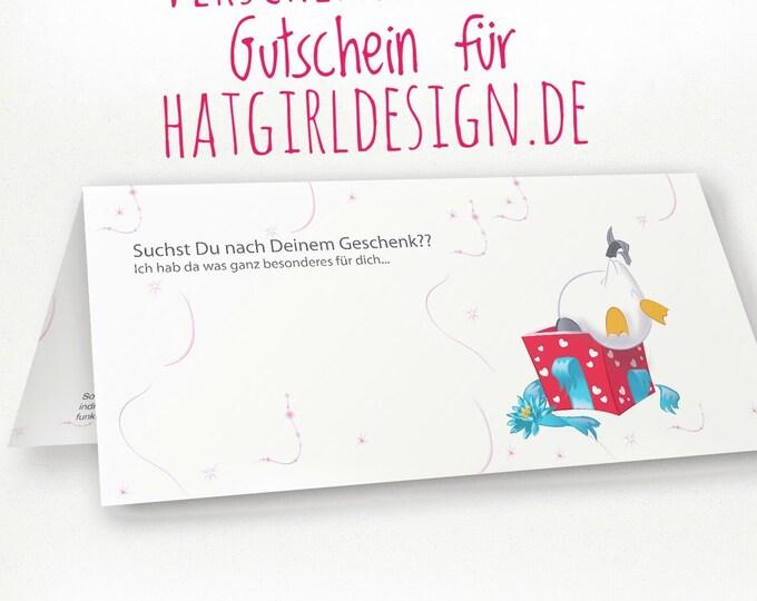 Purchase voucher at Hatgirldesign.de