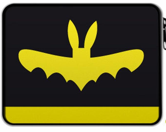 "Feather folder ""Your Superhero Name"" bat Christmas gift"