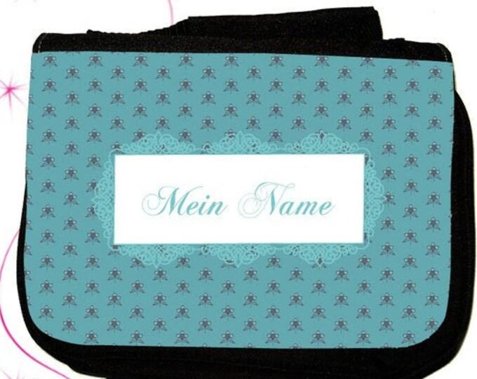 """Mein Name"""" Kulturtasche in verschiedenen Farbe... als praktisches  zum  Weihnachtsgeschenk"""
