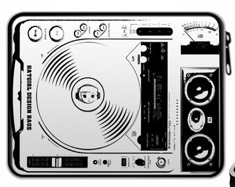 """Spring folder """"DJ Presskit"""" filled (suitable from 1st class) Christmas gift"""