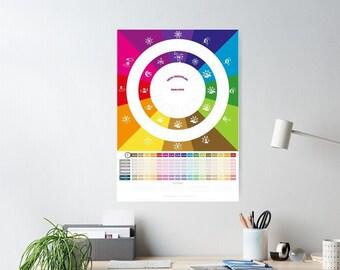 Wochenkalender + Tagestruktur mit Foto - Nachhaltig gestaltet von hatgirlDESIGN Weihnachtsgeschenk