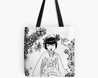 Carrying bag shopper Chinagirl © hatgirl.de as chic for Christmas gift