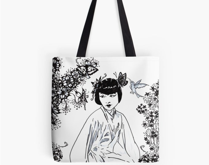 Carrying bag shopper Chinagirl © hatgirl.de as a chic gift for Mother's Day