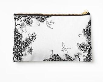 Case Hummingbird ARTbag © hatgirl.de make-up bag Sloppy pencil folder Ramschmappe School beginning Christmas gift