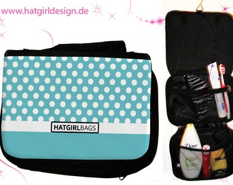 White Polkadots- versch. Variants of the colorful colorful rainbow culture bag as a practical Christmas gift
