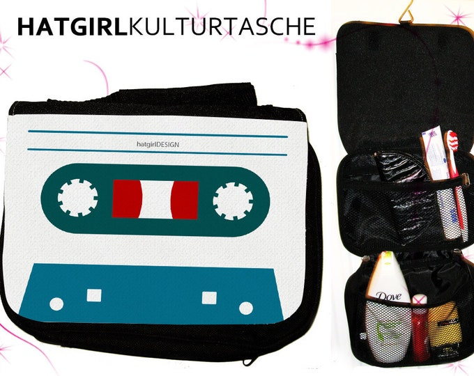 Coloured Tapedeck White- versch. Variations of the colorful colorful rainbow culture bag as a practical gift for Mother's Day