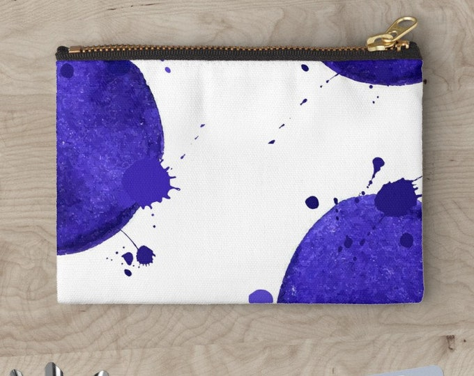 "Clutch ""Blue Watercolor"" © hatgirl.de"