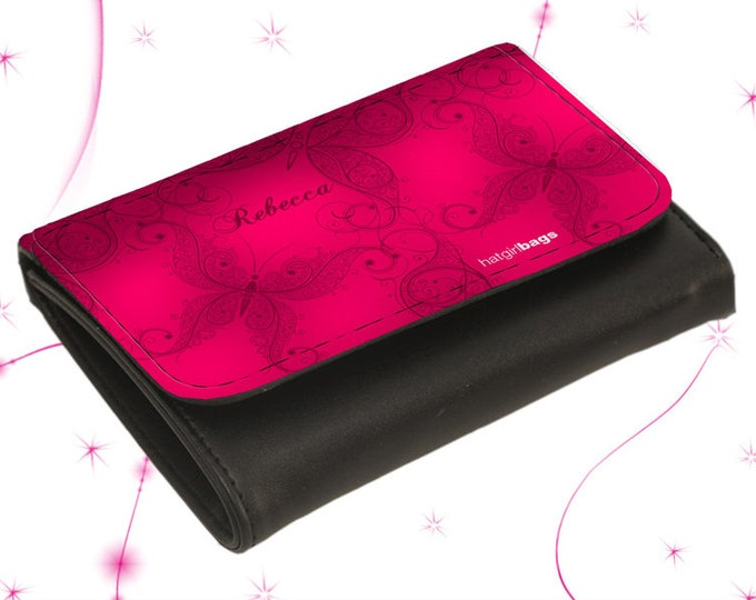"""Wallet leather case, purse """"Butterfly Style"""" Mother's Day gift gift for Mother's Day"""