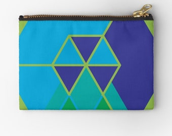 Case Colourful Minimalism © hatgirl.de make-up bag Sloppy pencil folder Ramschmappe School beginning Christmas gift