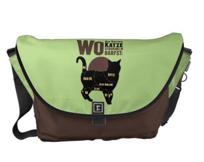 """Carrying bag courier bag """"Cat"""" - different. Sizes"""