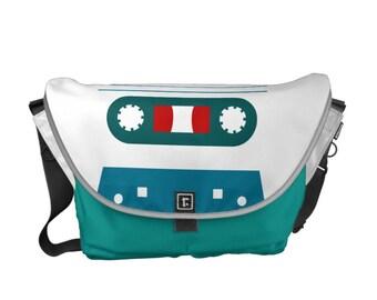 "Carrying bag courier bag ""Music my love""-versch. Sizes"