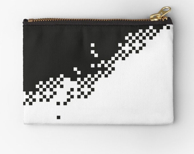 Pixel Digital Design Graphics Bag © hatgirl.de Studio Clutches